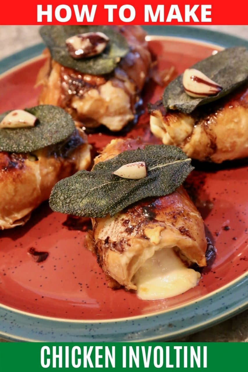 Save our Involtini di Pollo recipe to Pinterest!
