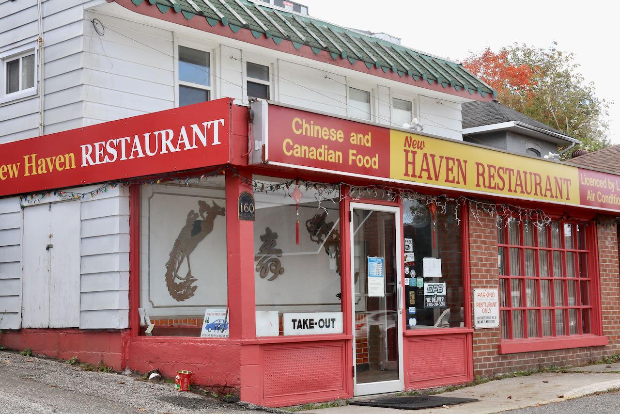 New Haven is the best Chinese restaurant in Bracebridge.