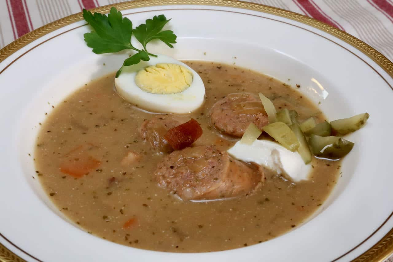 Store leftover Zurek Soup for up to a week in the fridge or 3 months in the freezer.