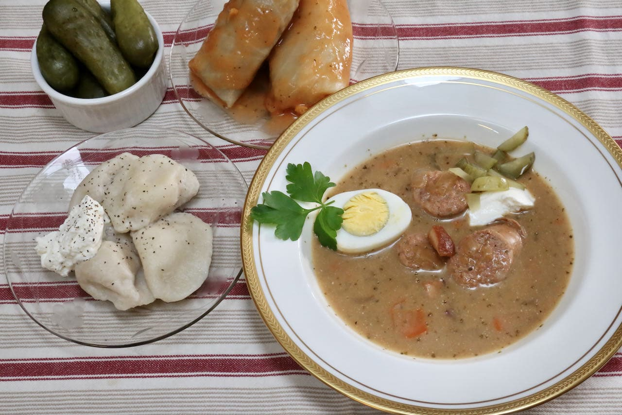 We love cooking homemade Zurek Soup on a cold Fall or Winter day.