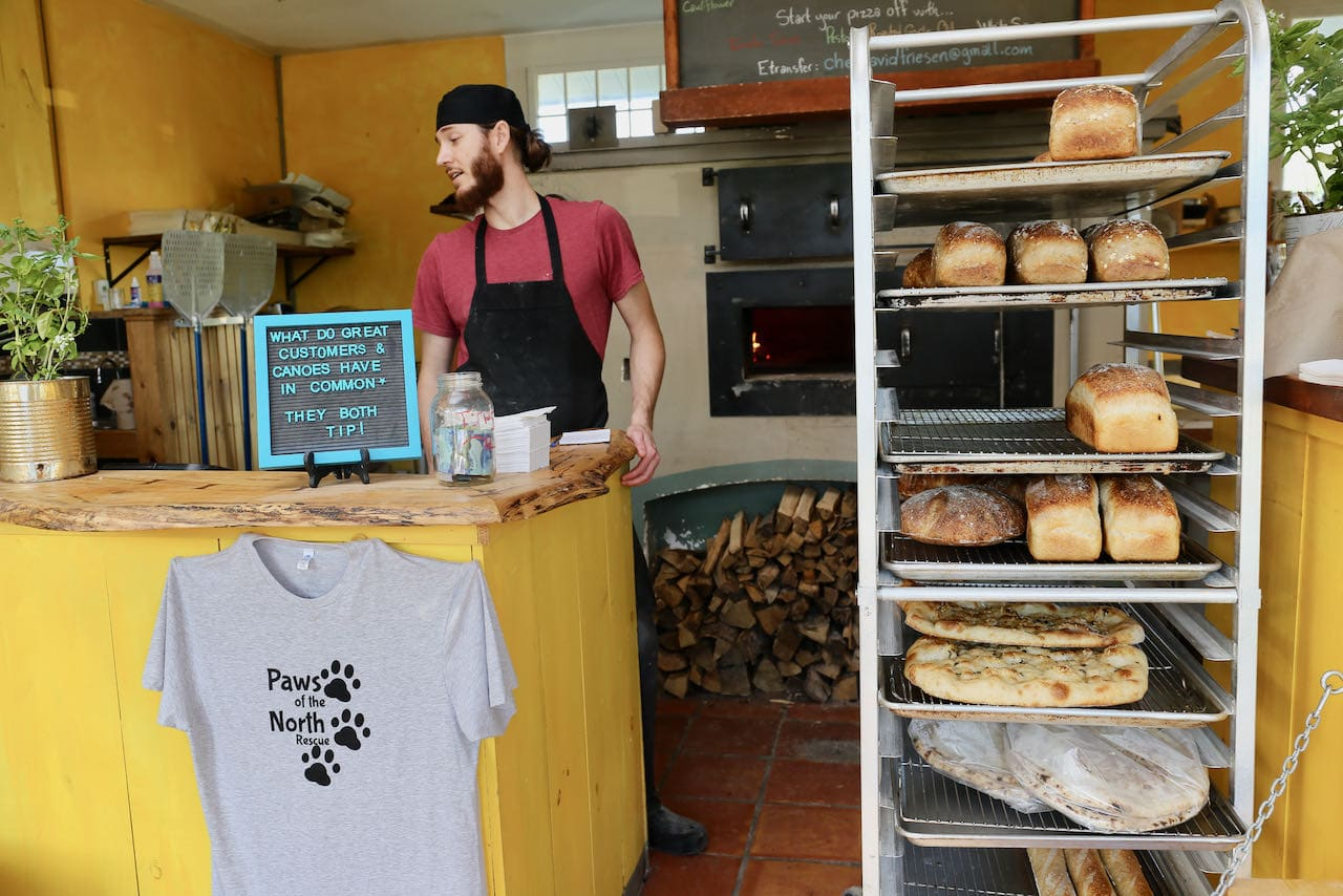 Bracebridge Restaurants: The Oven serves the city's best pizza and sourdough bread.