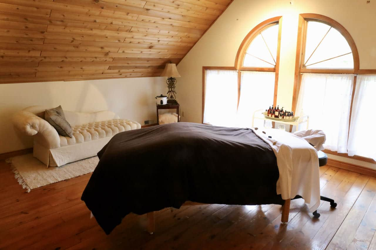 Trillium Resort offers a boutique spa experience in Port Sydney.