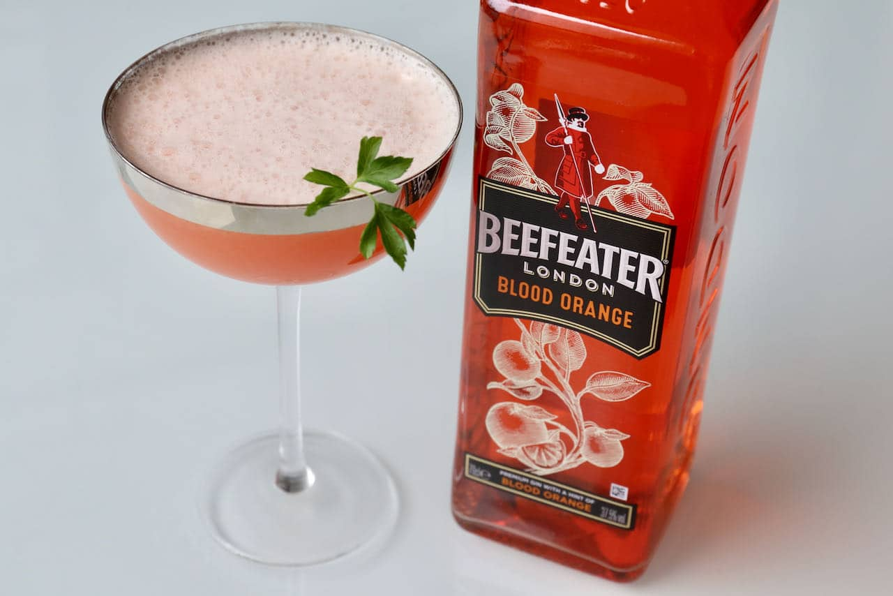 Beefeater Blood Orange Gin is a top seller.