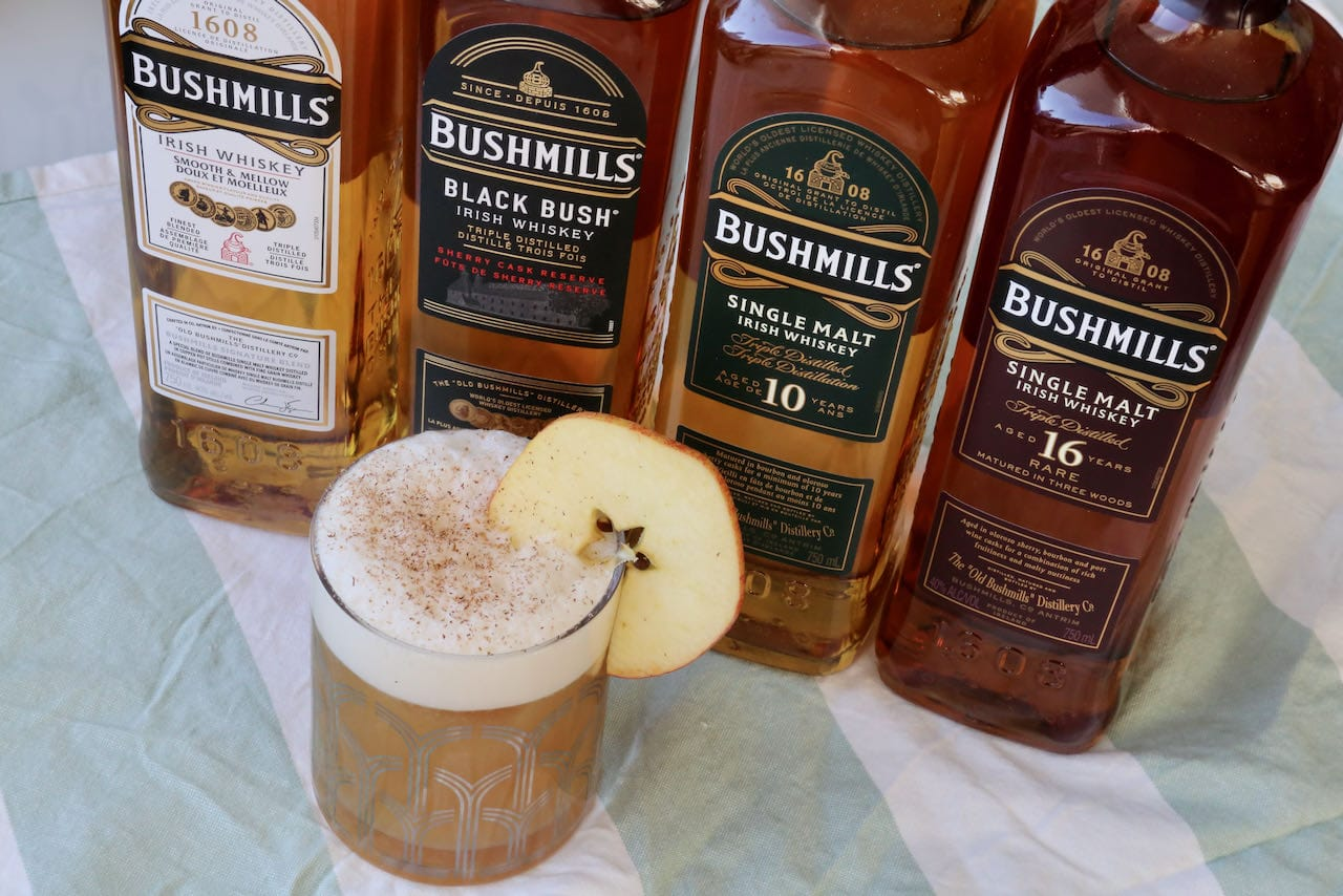 Our Bushmills Cocktail is made with quality Irish Whiskey.