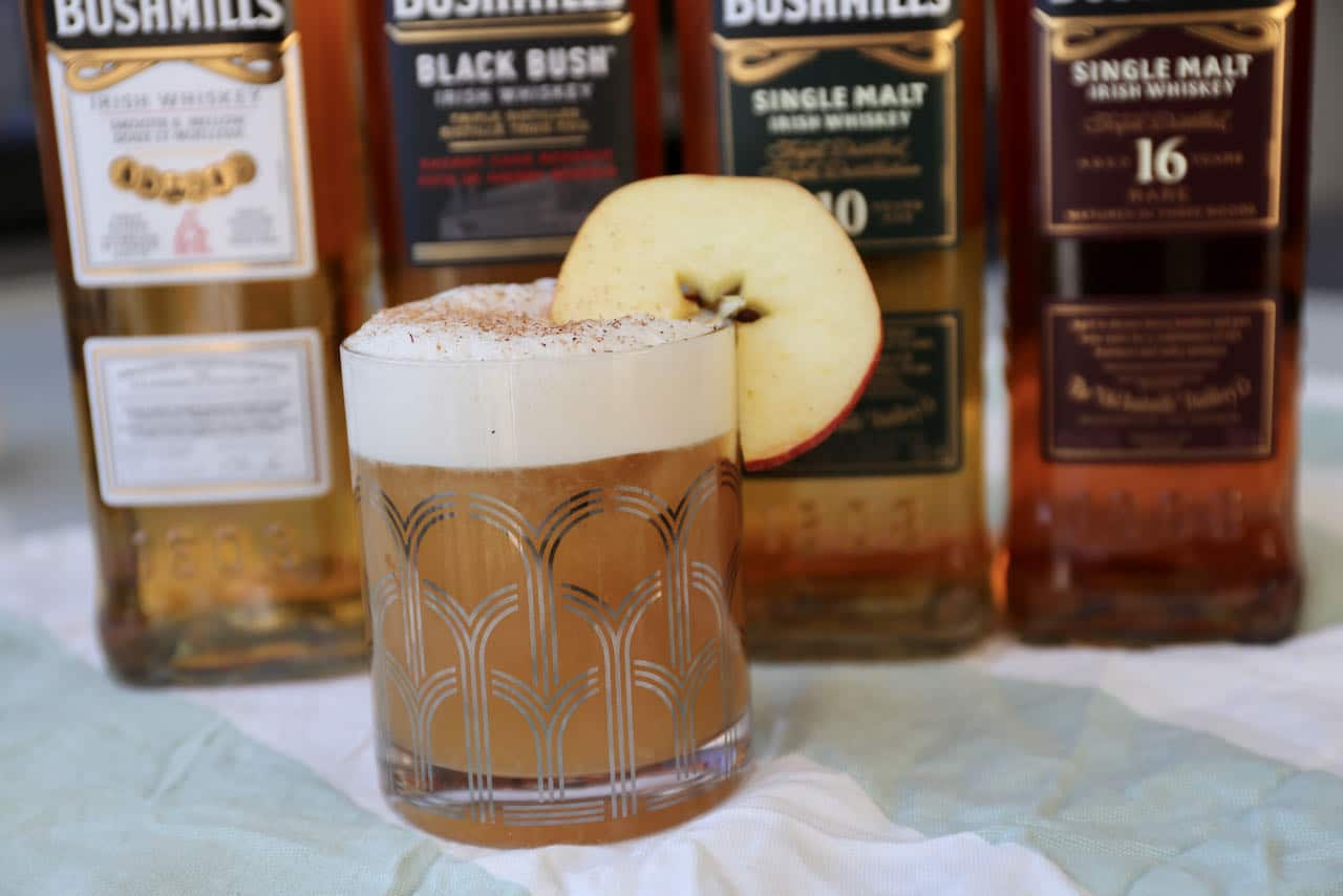 Bushmills makes a great Whiskey and Apple Juice Cocktail.