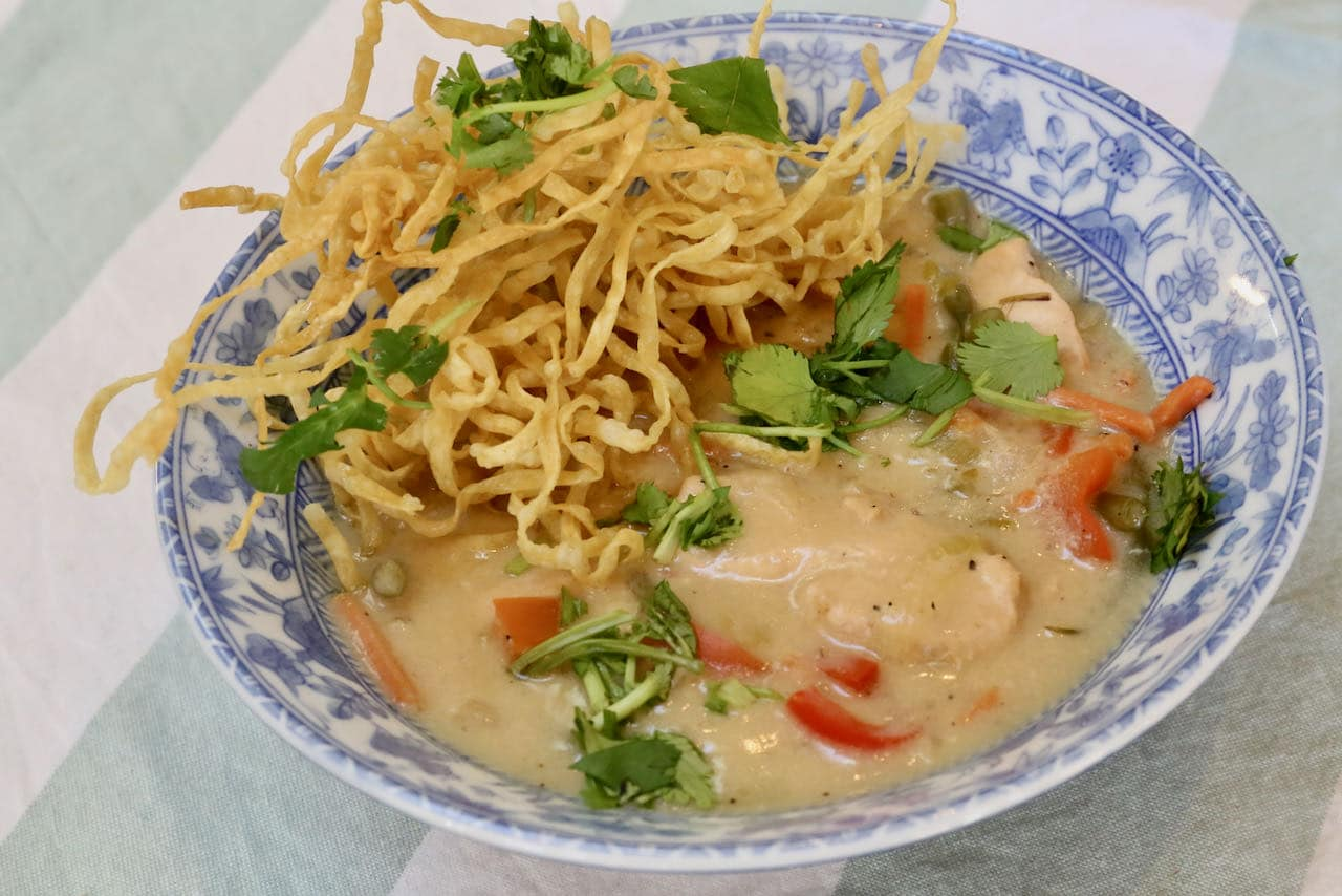 Homemade Chicken Manchow Soup Recipe