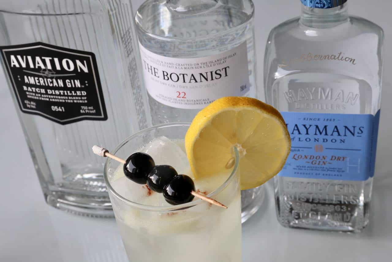 Classic Gin John Collins Drink Cocktail Recipe