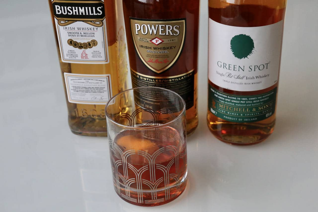 We love our Irish Old Fashioned drink at Thanksgiving, Christmas and St. Patrick's Day.