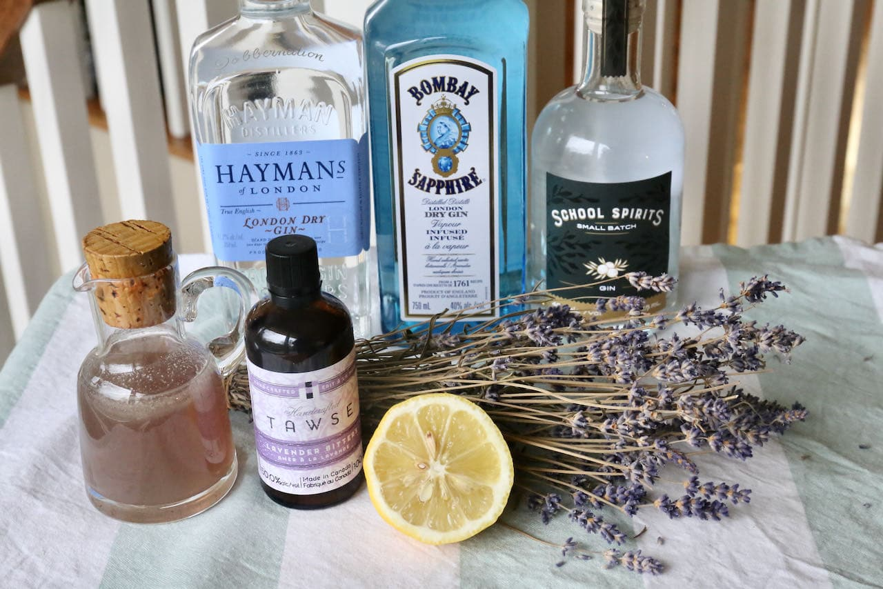 Prepare an easy Lavender Gin Cocktail at home by using a bottle produced by an award-winning distillery.