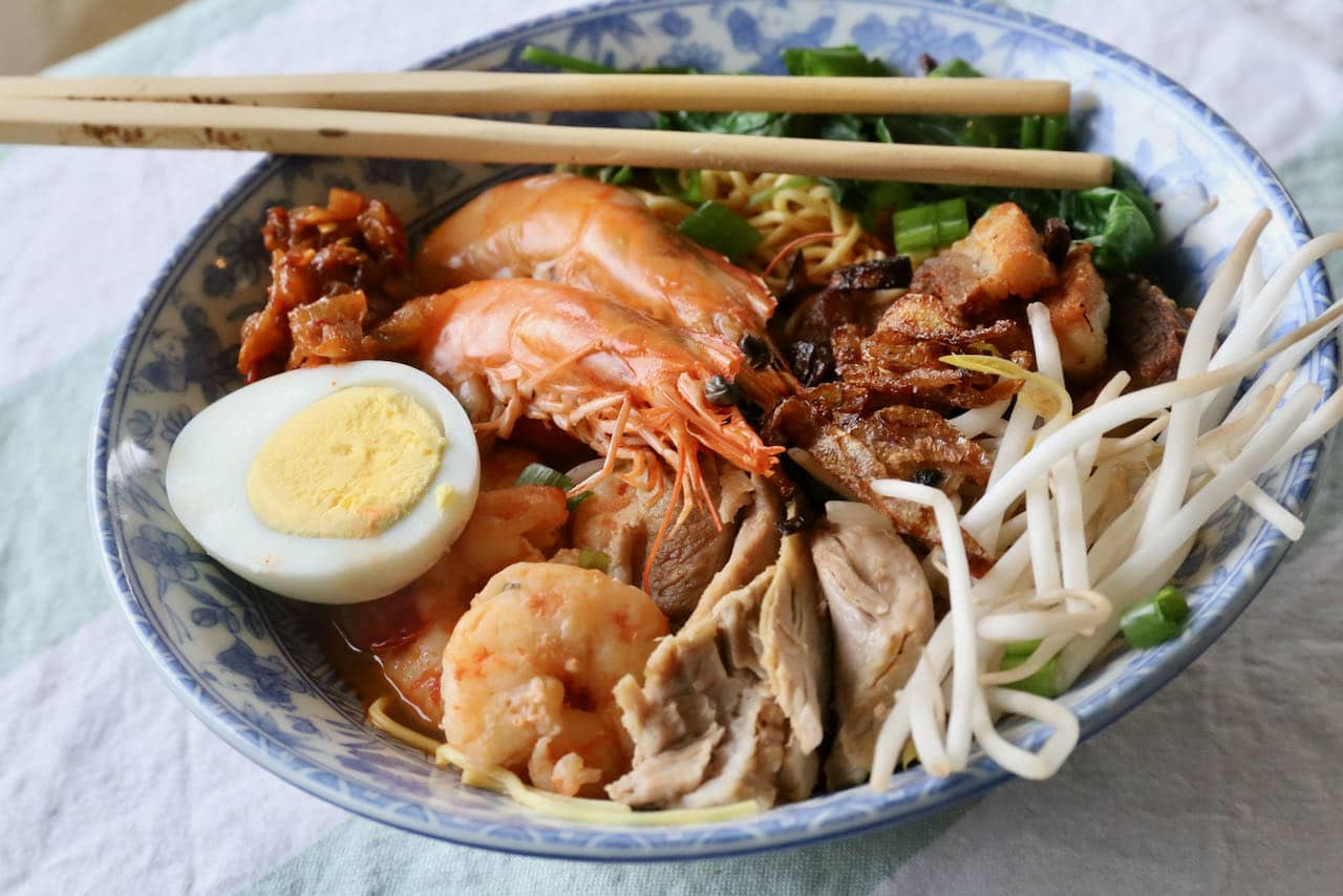 We love serving this Hokkien Mee recipe for a crowd at a Malaysian-themed dinner party.