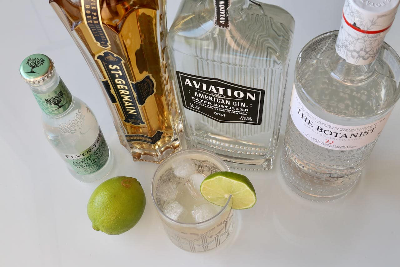 Now you're an expert on how to make an Elderflower Gin and Tonic!