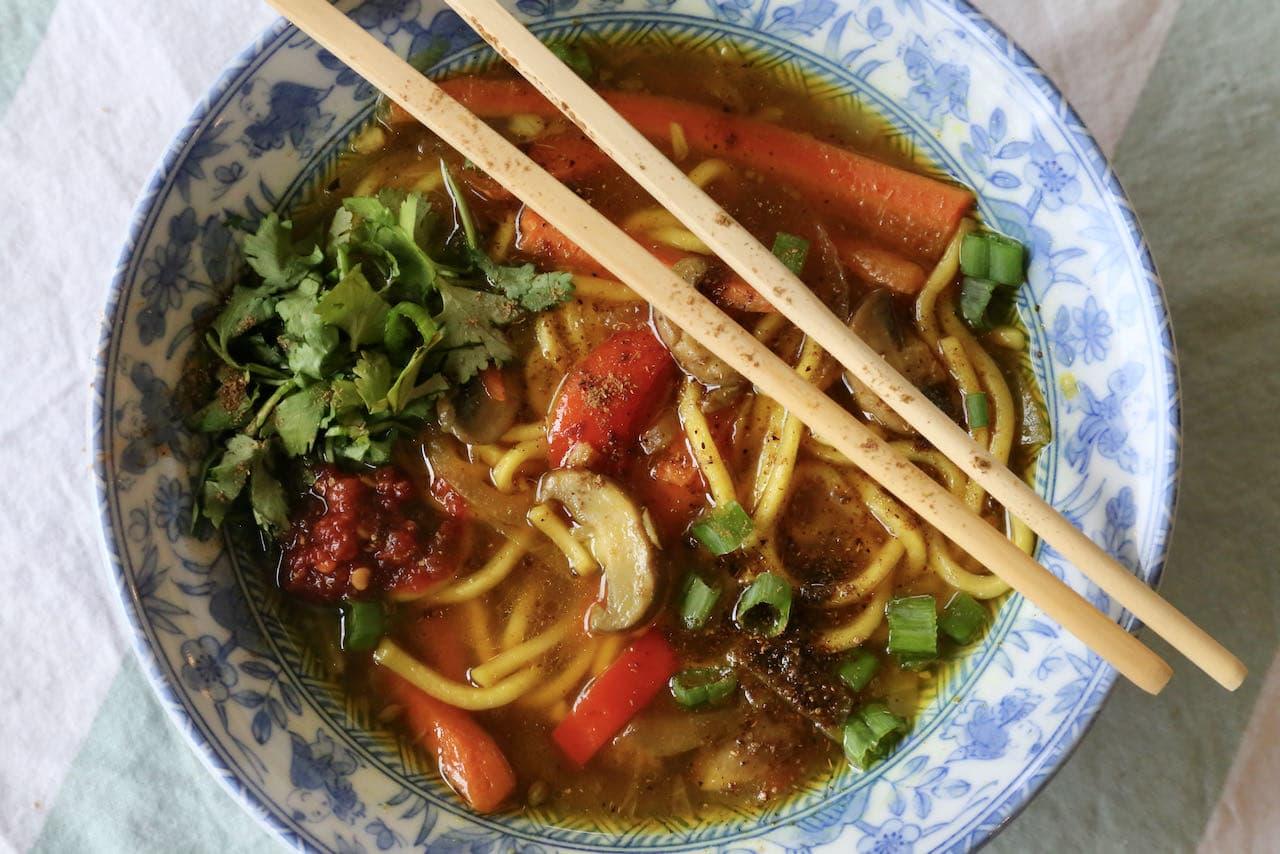 Veg Thukpa Recipe: Healthy Tibetan Noodle Soup