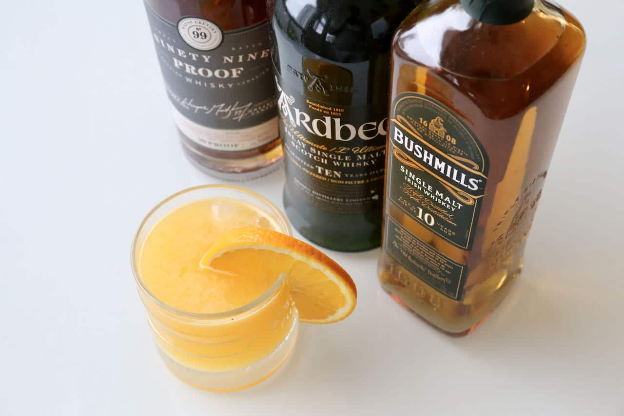 Now you're an expert on how to make the best Whisky Orange Juice.