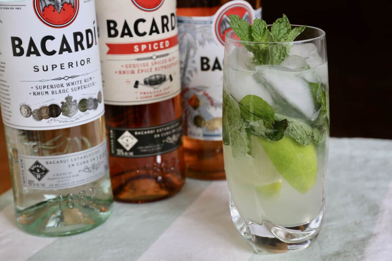 Now you're an expert on how to make the best Bacardi Rum Mojito recipe.
