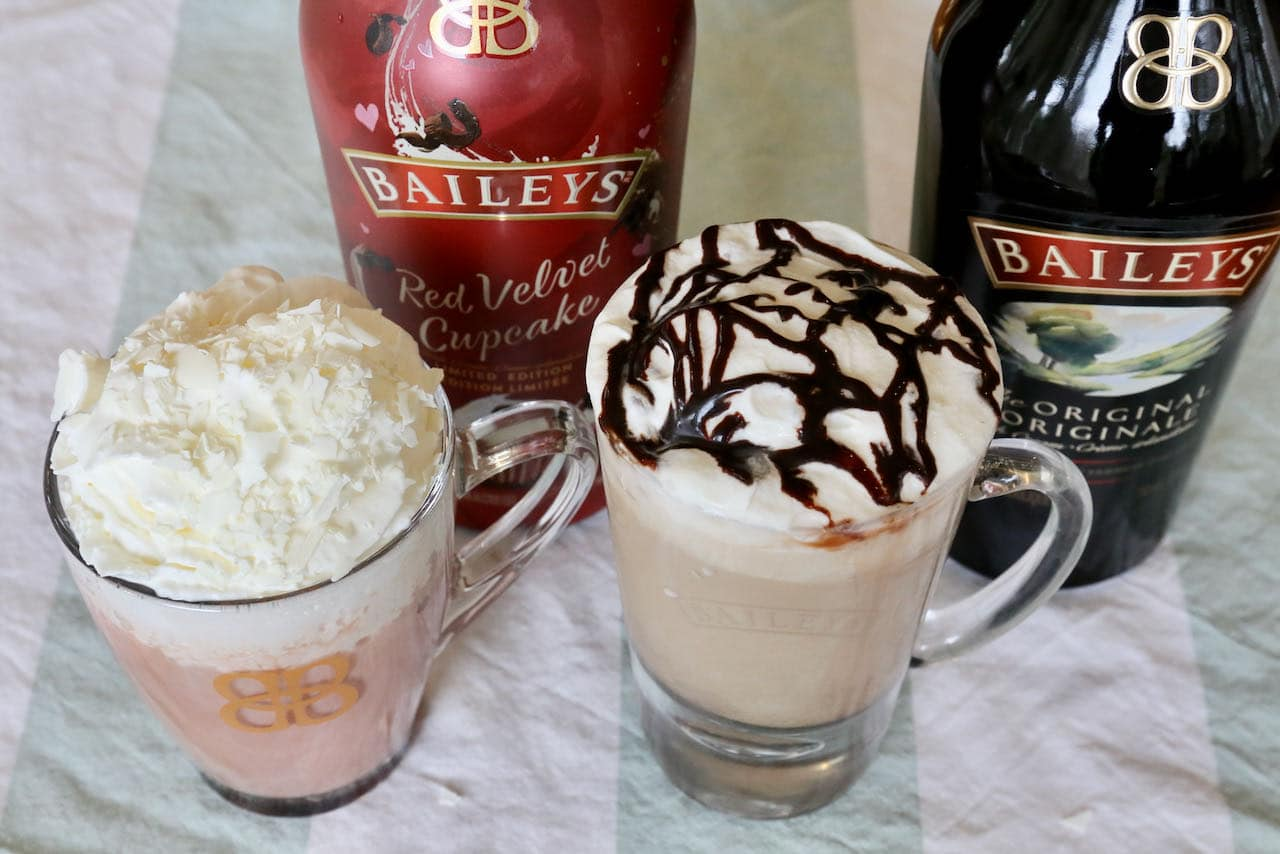 You can prepare this recipe with Original Baileys Irish Cream or unique flavours like Baileys Red Velvet Cupcake.