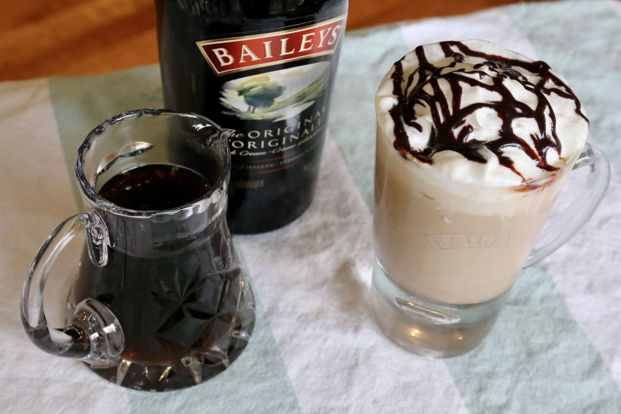 Best Baileys Iced Coffee Cocktail Drink Recipe