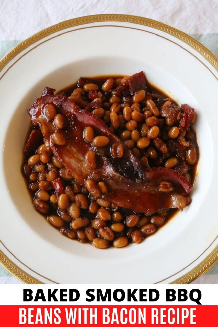 Save our Southern Smoked Baked Beans recipe to Pinterest!