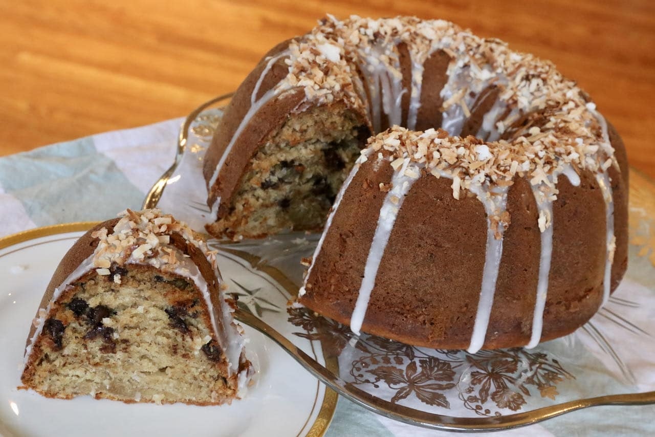 Now you're an expert on how to bake Chocolate Chip Caribbean Banana Bread!