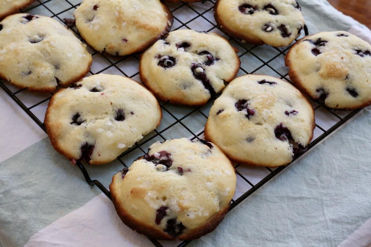 Blueberry Lemon Muffin Tops Recipe