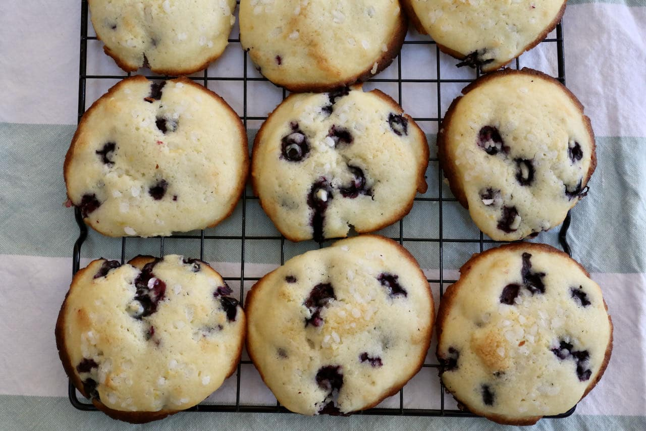 Our homemade recipe for muffin tops is perfect for a grab and go breakfast or healthy snack.