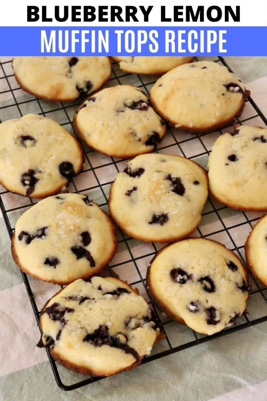 Save our Blueberry Lemon Muffin Tops Recipe to Pinterest!