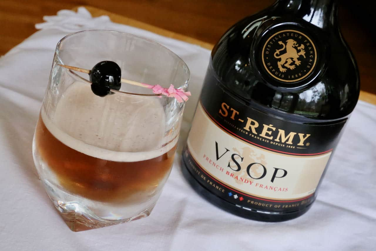 Brandy Manhattan Cognac Cocktail Drink Recipe