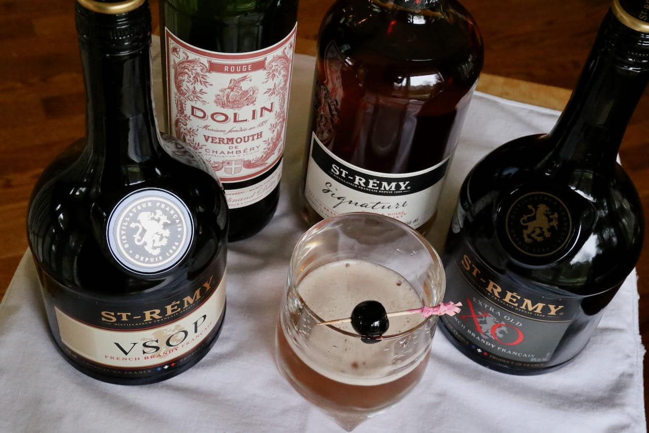 Serve our Brandy Manhattan recipe at a French-themed cocktail party.