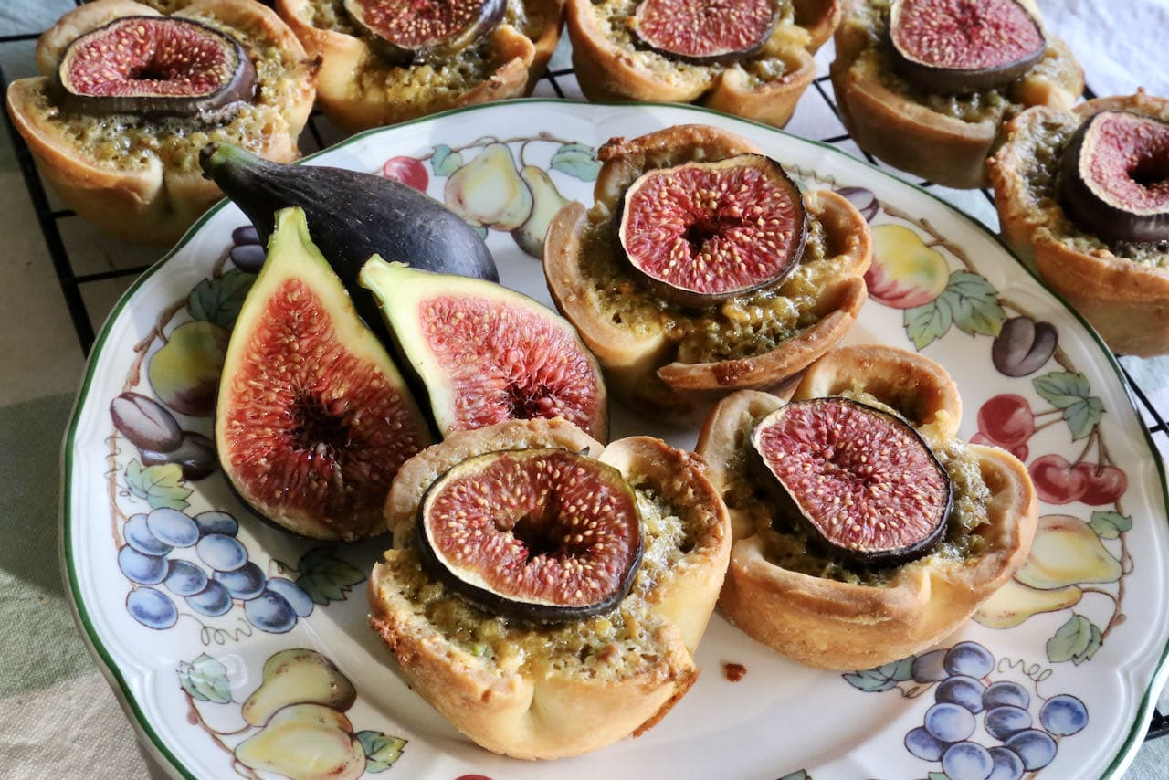 Now you're an expert on how to make the best Fresh Fig Pistachio Tartlets recipe!