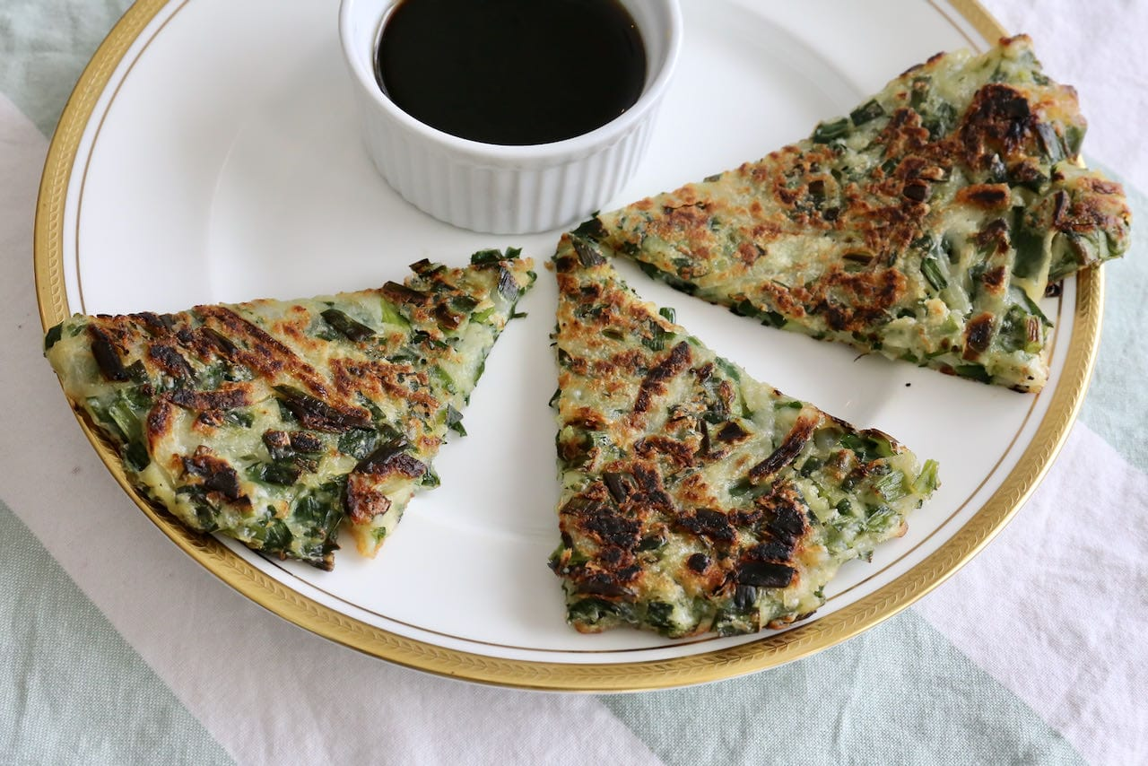 Now you're an expert on how to make the best Buchimgae Korean Chive Pancake recipe!