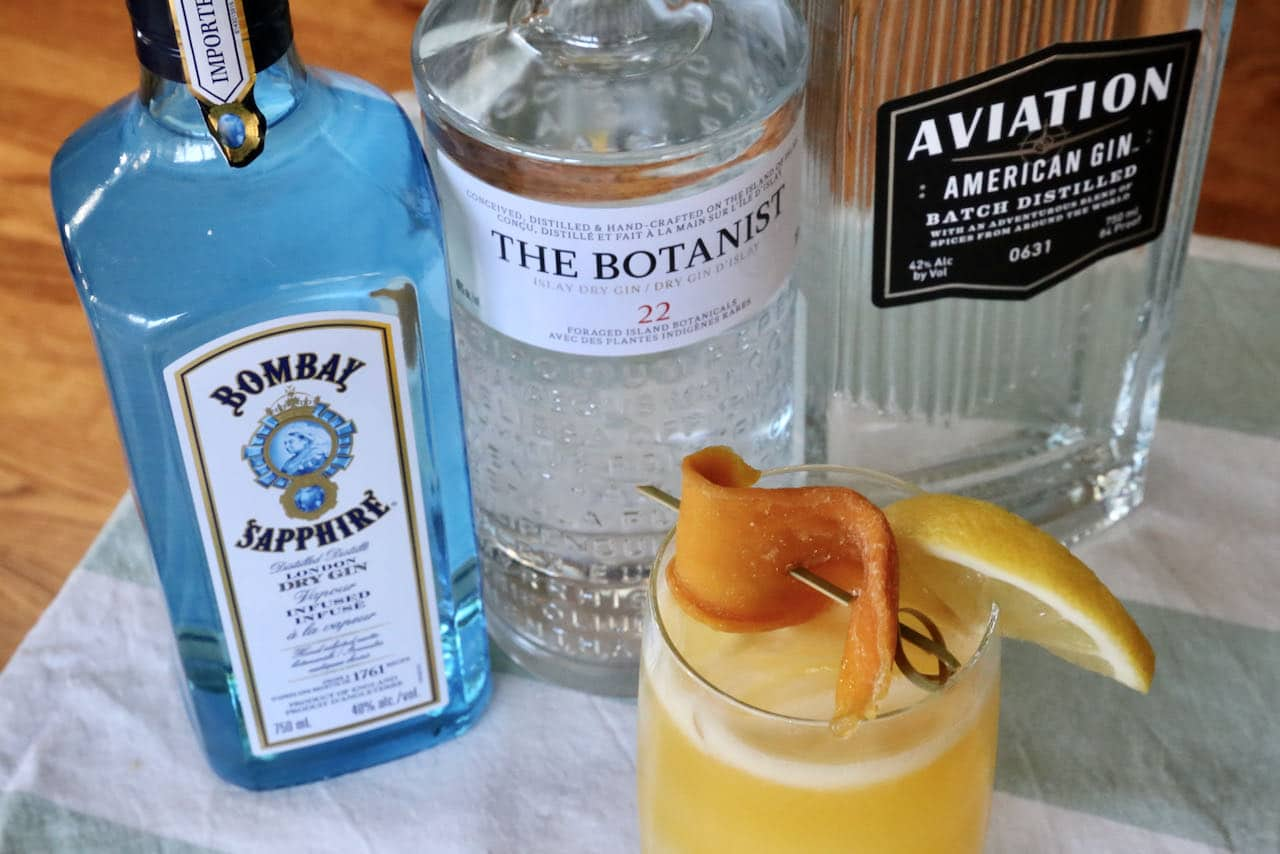 Now you're an expert on how to make the best Mango Juice Gin Collins Cocktail.
