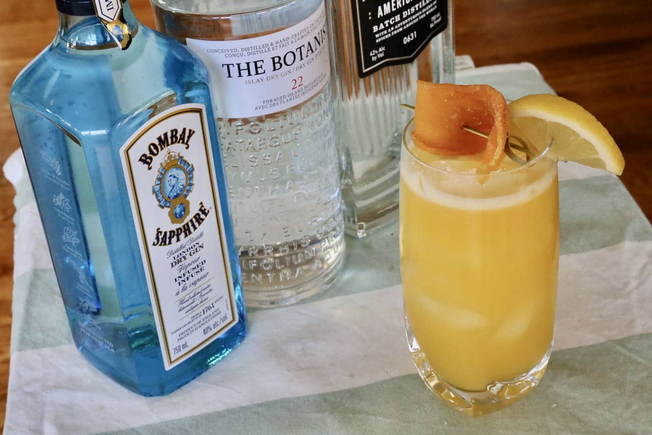 This boozy mango juice drink is one of our favourite summer gin cocktails.