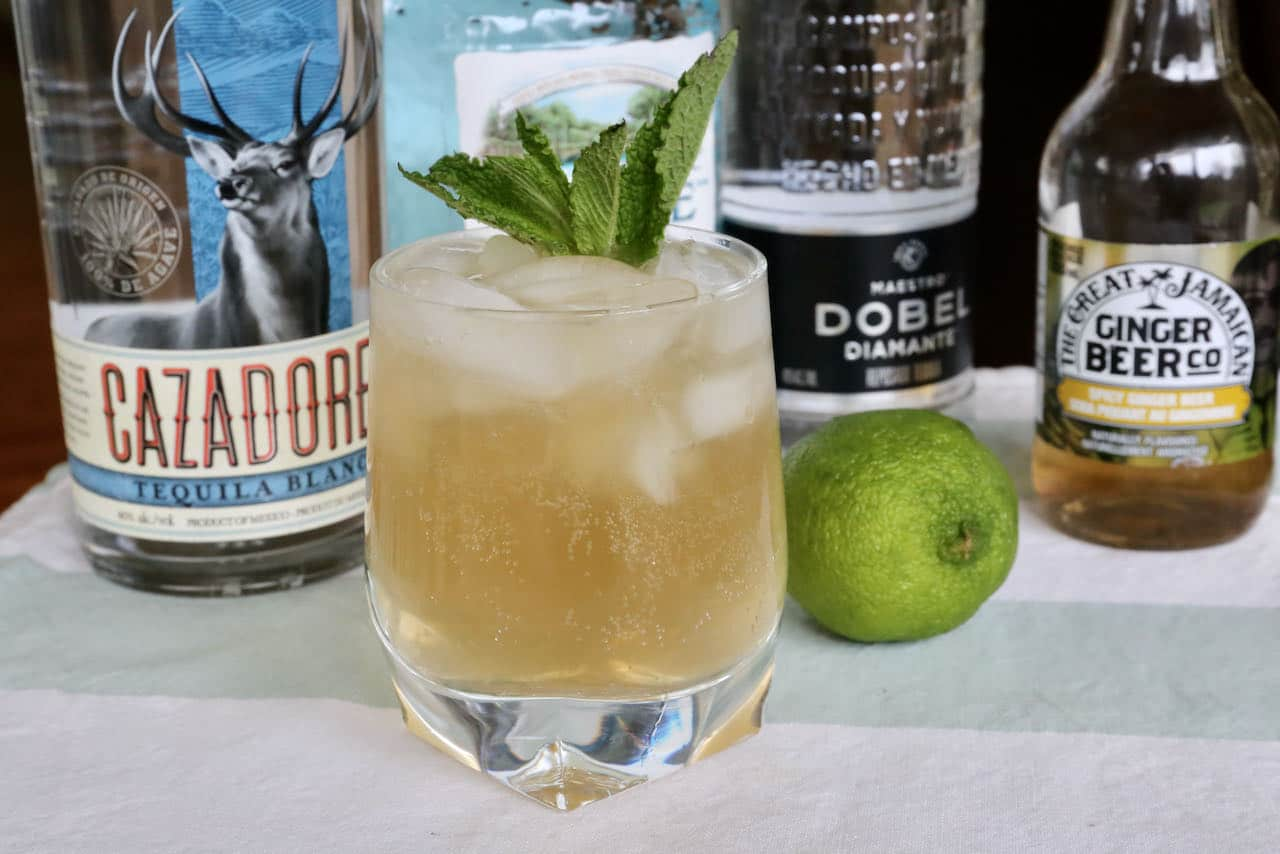 Serve a refreshing Mexican Mule on a hot summer day as it's delightfully thirst quenching.