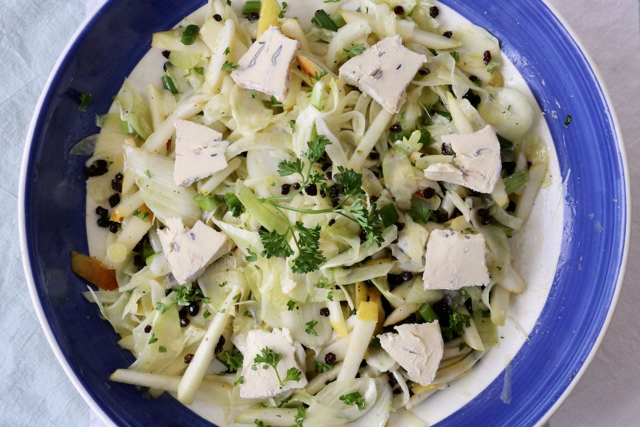 Cambozola Currant Pear and Fennel Salad Recipe