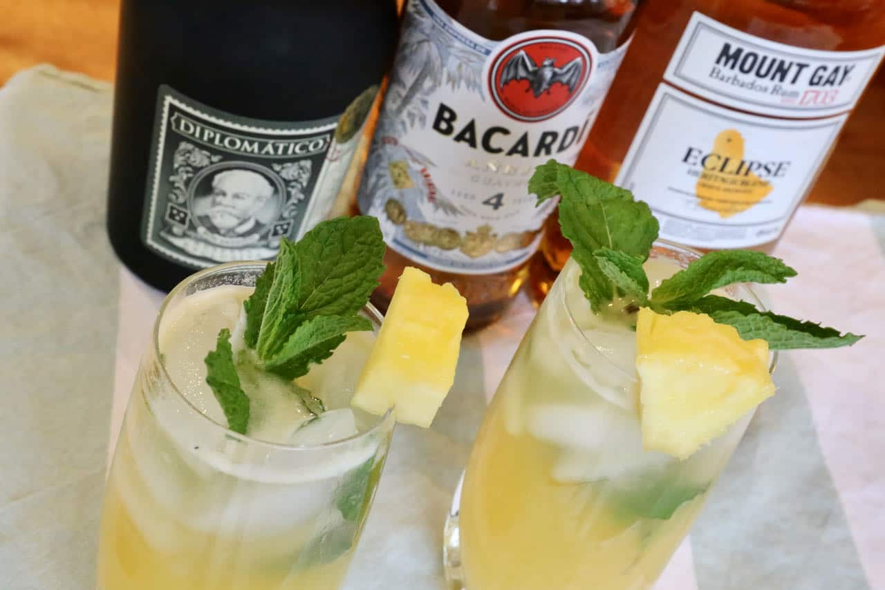 This fresh Pineapple Mojito recipe is perfect for rum lovers.
