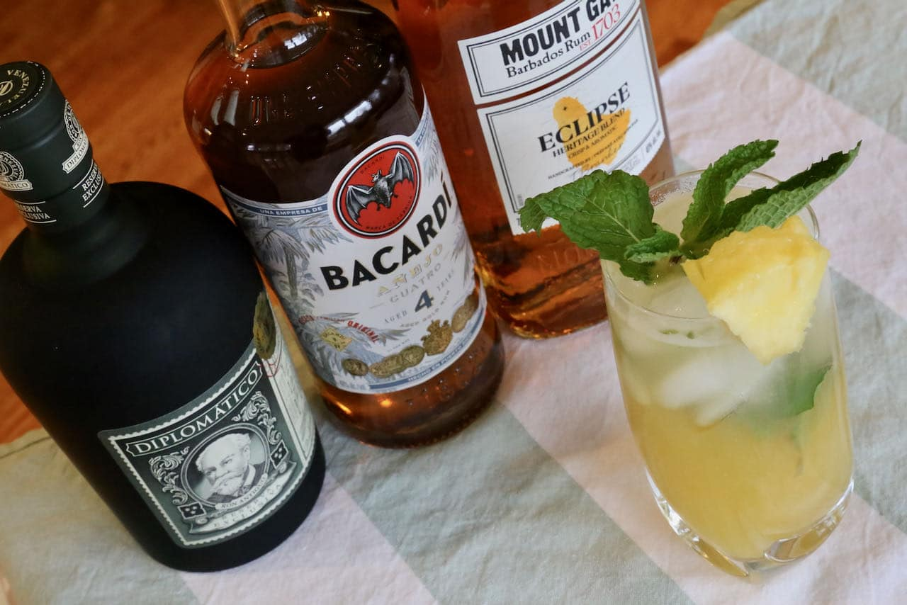 Now you're an expert on how to make the best Pineapple Mojito recipe.