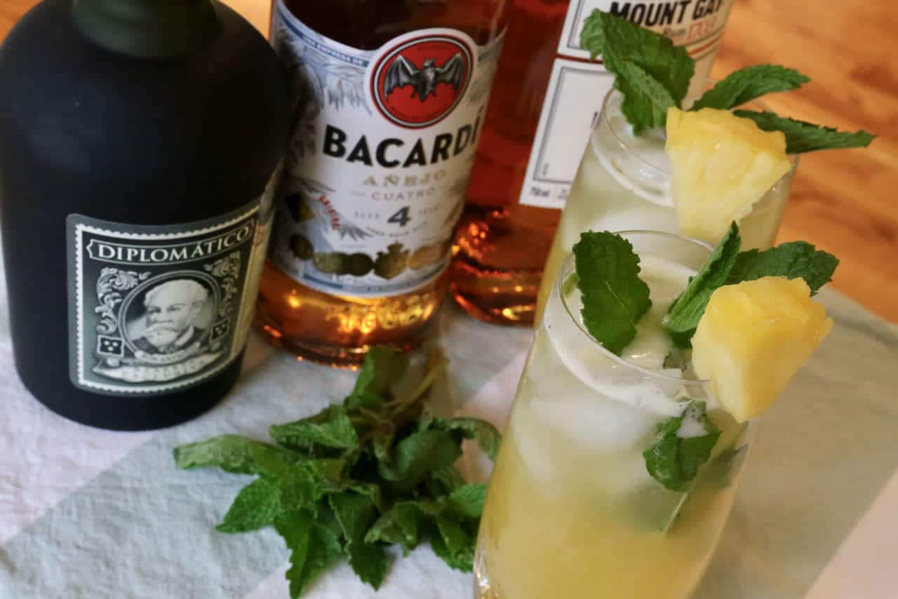 Our homemade Pineapple Mojito is a refreshing drink to enjoy on a hot summer day.