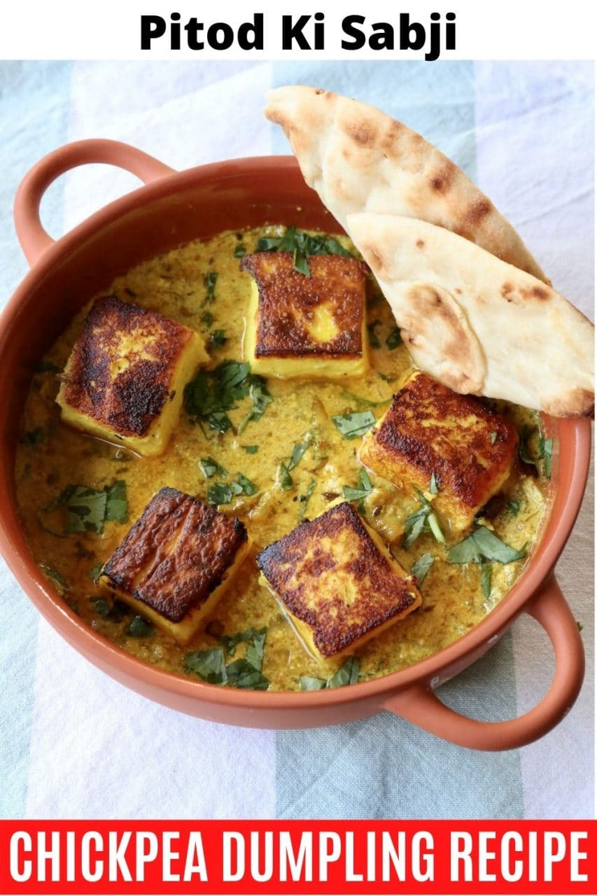 Save our authentic Pitod Ki Sabji recipe to Pinterest!