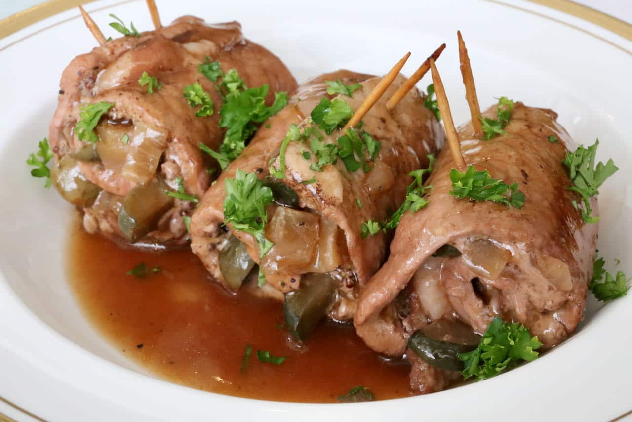We love serving German Pork Rouladen at special occasions like Christmas.