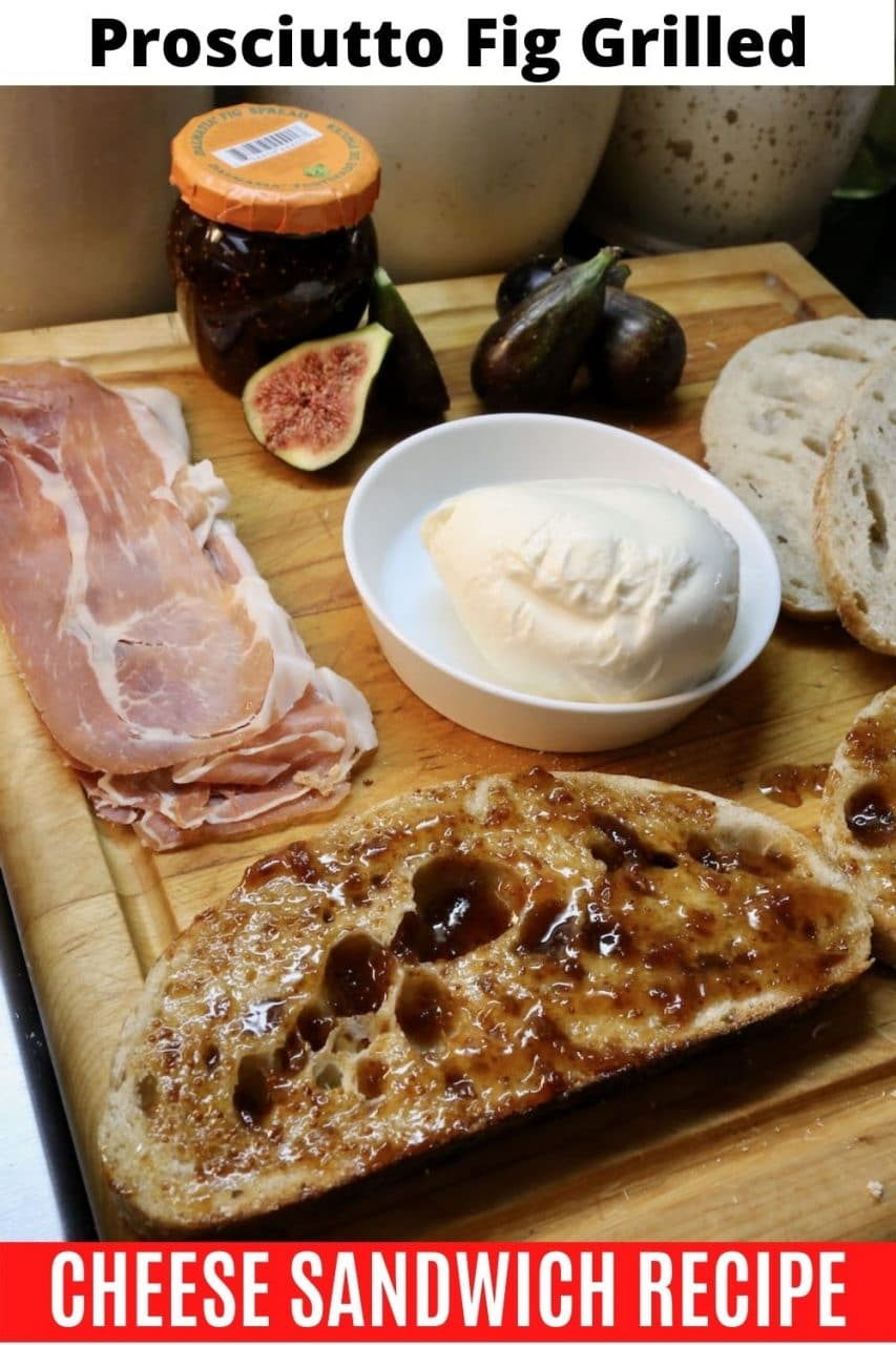 Save our Fig Prosciutto Grilled Cheese Sandwich recipe to Pinterest!