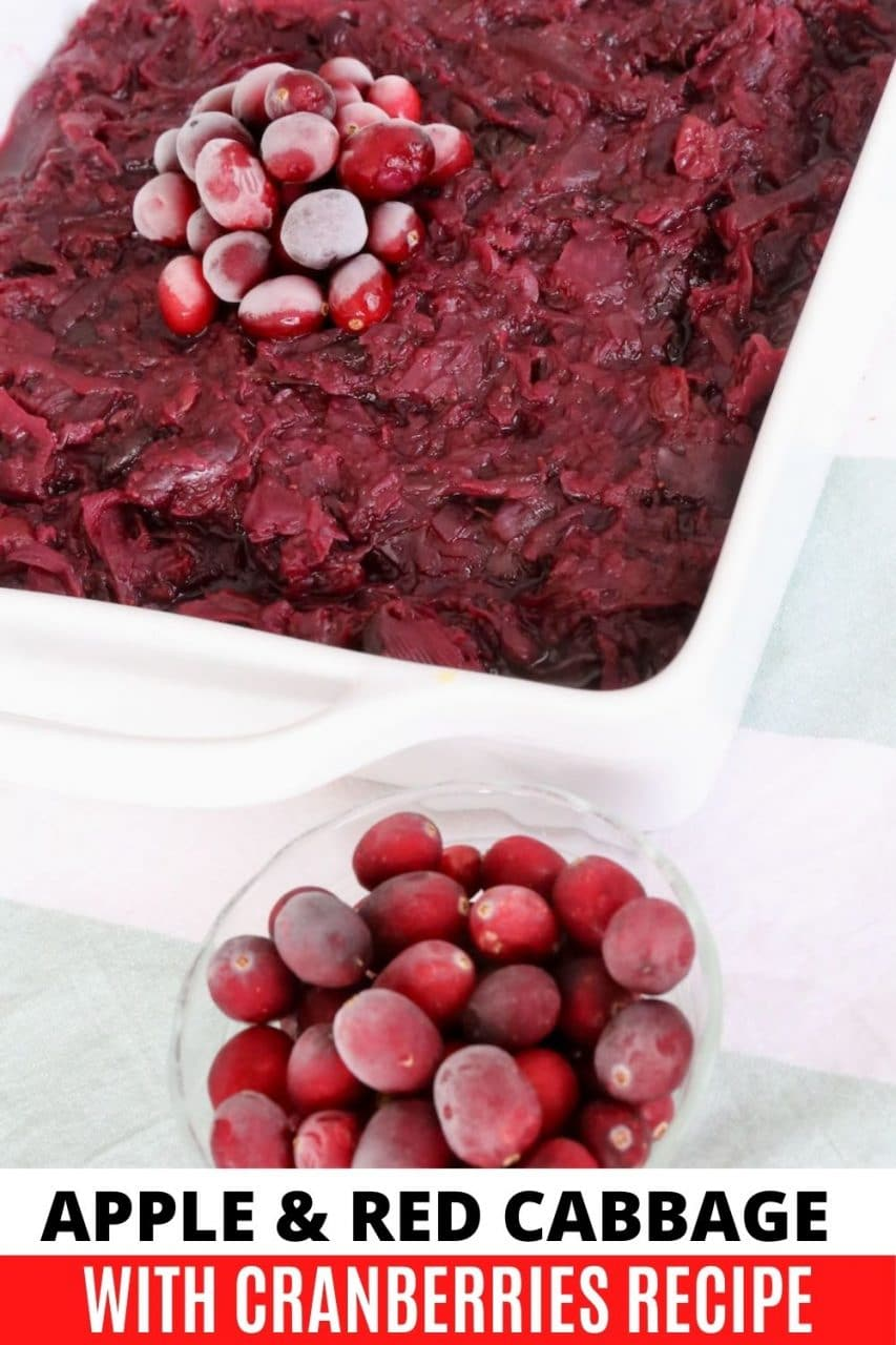 Save our Slow Cooked Red Cabbage recipe to Pinterest!
