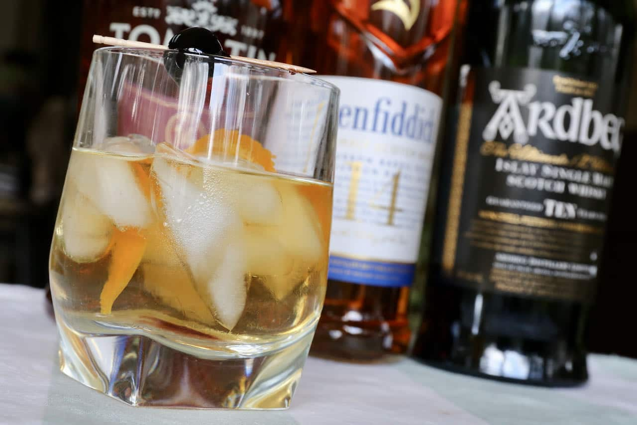 The Scotch Old Fashioned is one of our favourite Scottish cocktails to enjoy on Rabbie Burns Day.