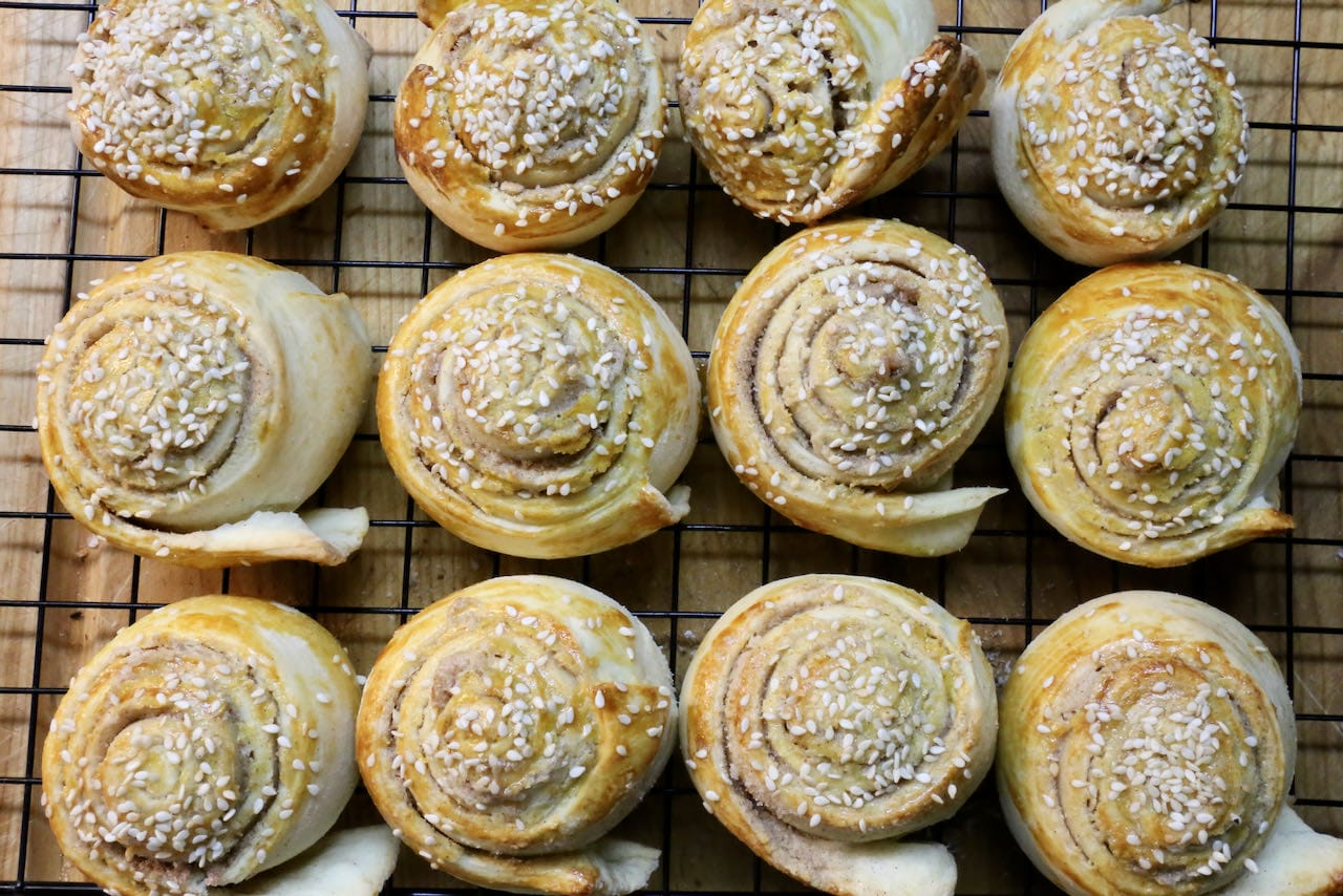 We love serving Tahini Rolls for breakfast or as a snack at coffee break or tea time.