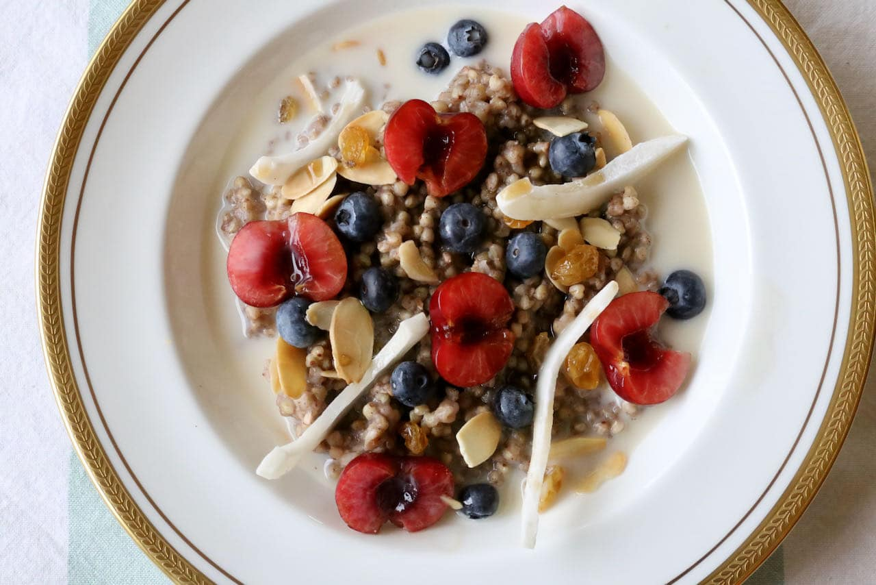 Now you're an expert on how to make the best Gluten Free Porridge with buckwheat groats!