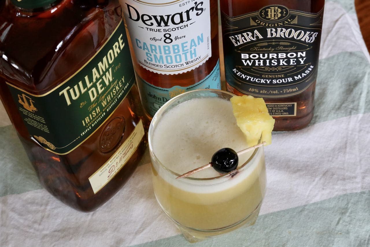 Now you're an expert on how to make a Whiskey and Pineapple Juice.