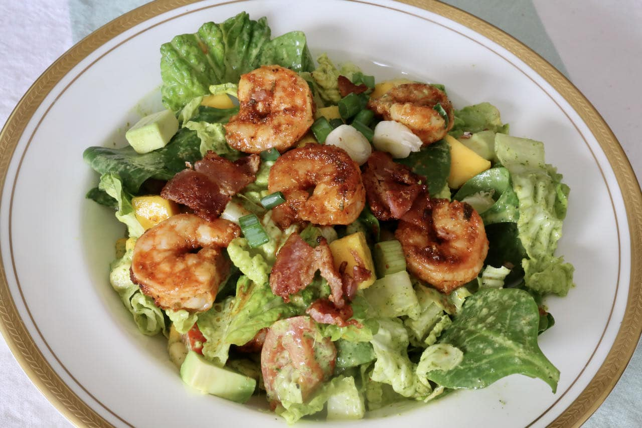 Now you're an expert on how to make homemade Cajun Shrimp Salad!