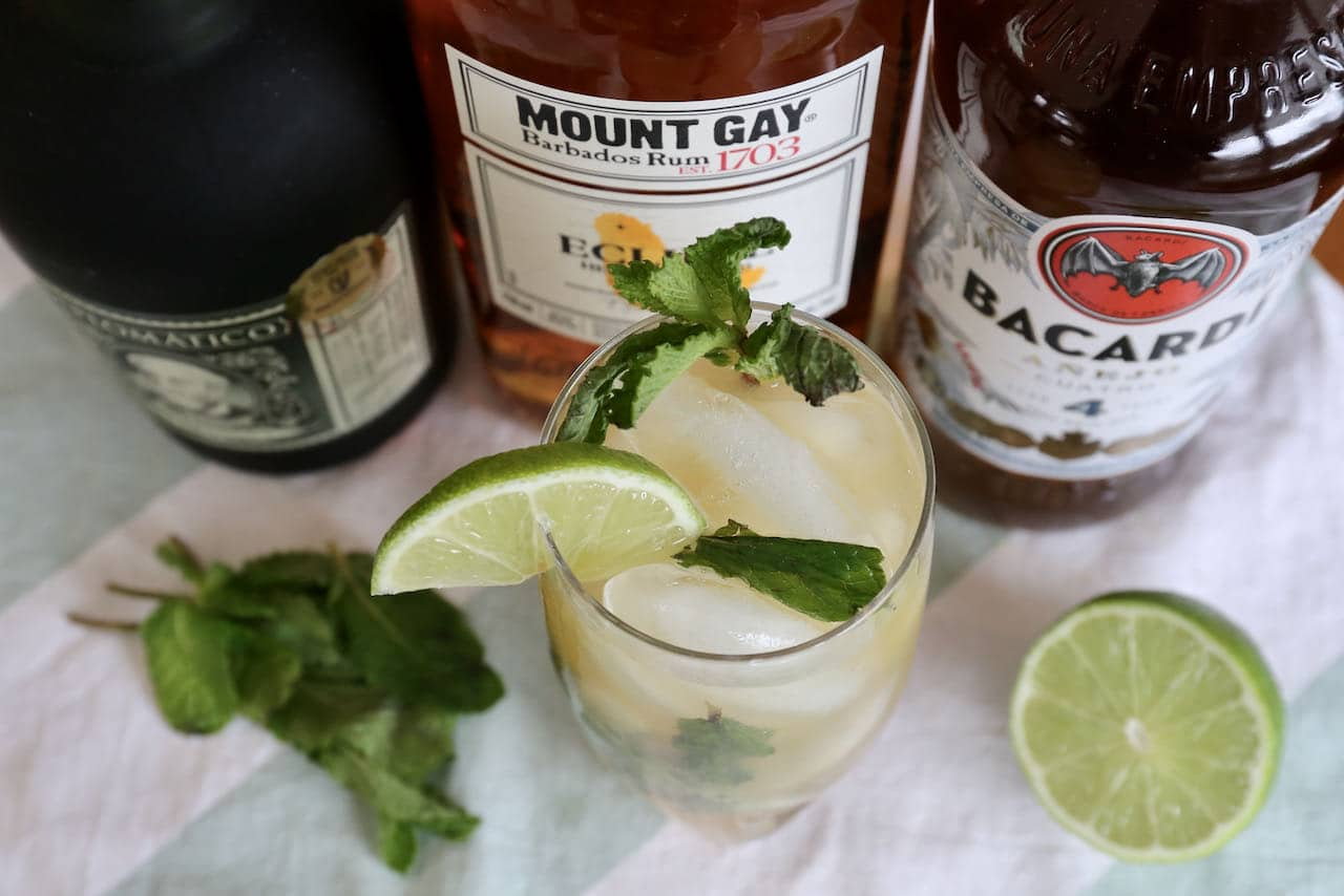 Now you're an expert on how to make the best Dark Rum Mojito recipe.
