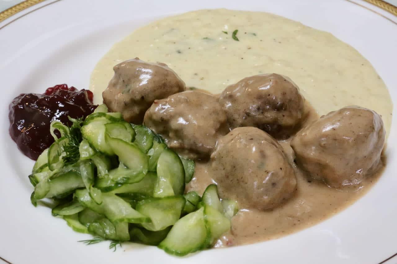 Köttbullar is Sweden's favourite comfort food.