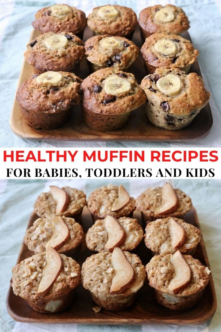 Save our Best Healthy Muffins For Kids Recipe List to Pinterest!
