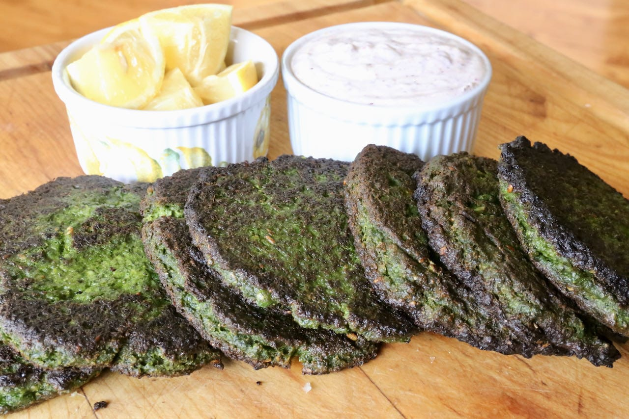 Vegetarian Middle Eastern Spiced Pea Fritters Recipe