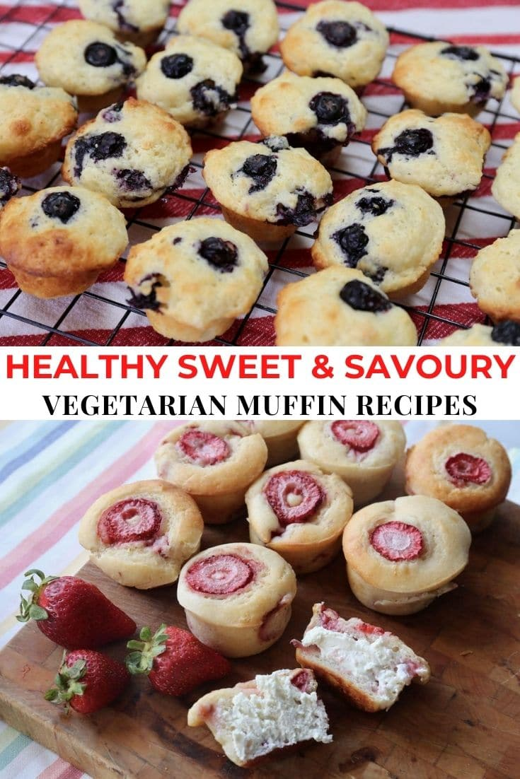 Save our Healthy Vegetarian Muffins list to Pinterest!
